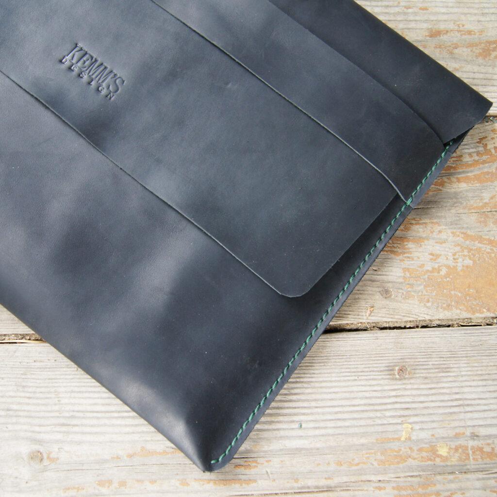 Кожаный чехол для ноутбука макбука планшета