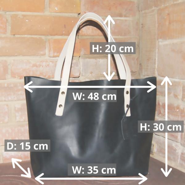 кожаная сумка шоппер tote bag на заказ