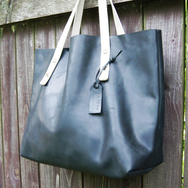 Сумка шоппер tote bag из натуральной кожи
