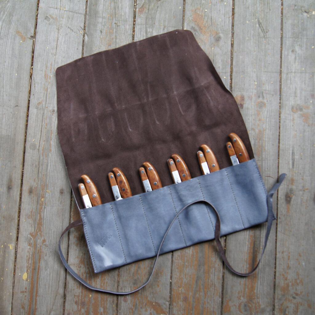 Чехол кожаный для приборов, инструментов на заказ