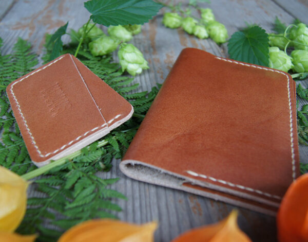 кожаная обложка на паспорт и картхолдер комплект