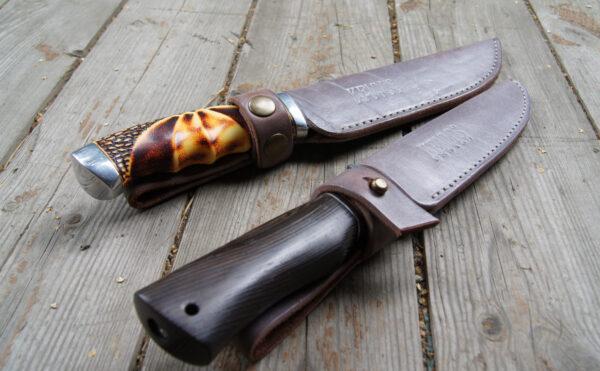 Ножны кожаные для ножа на заказ