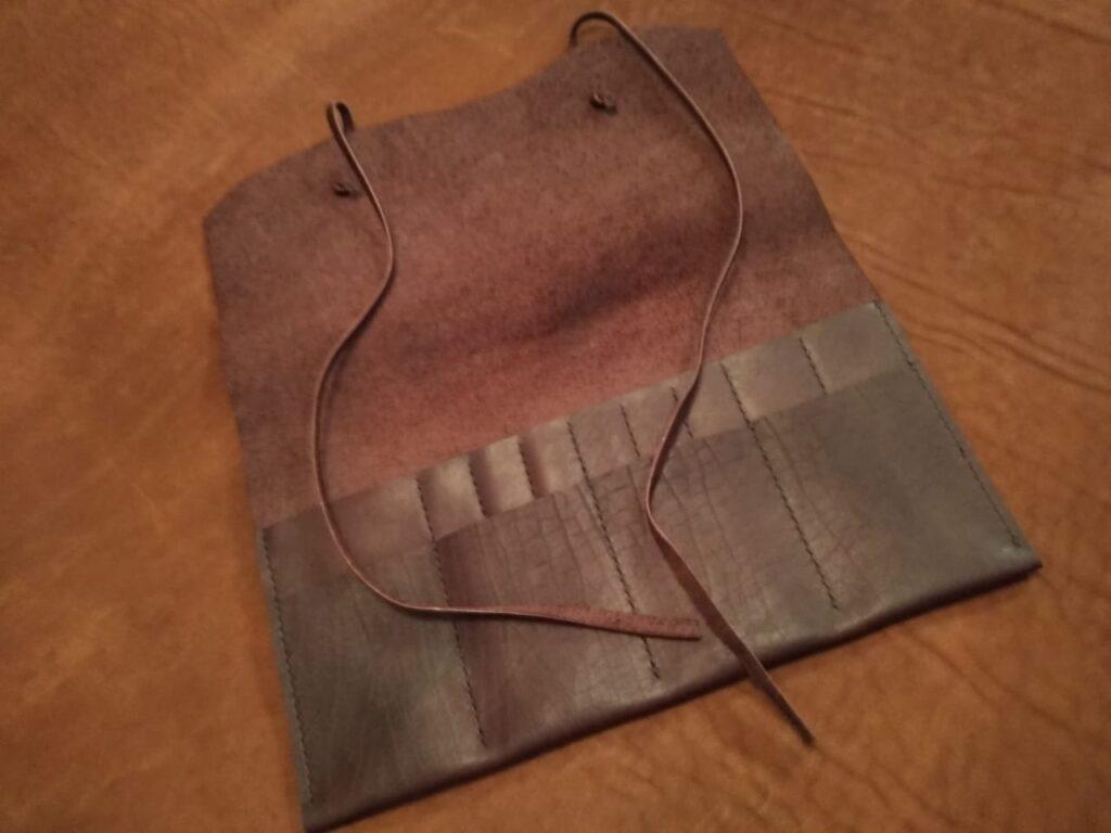 Кожаный чехол для мастера и инструментов на заказ