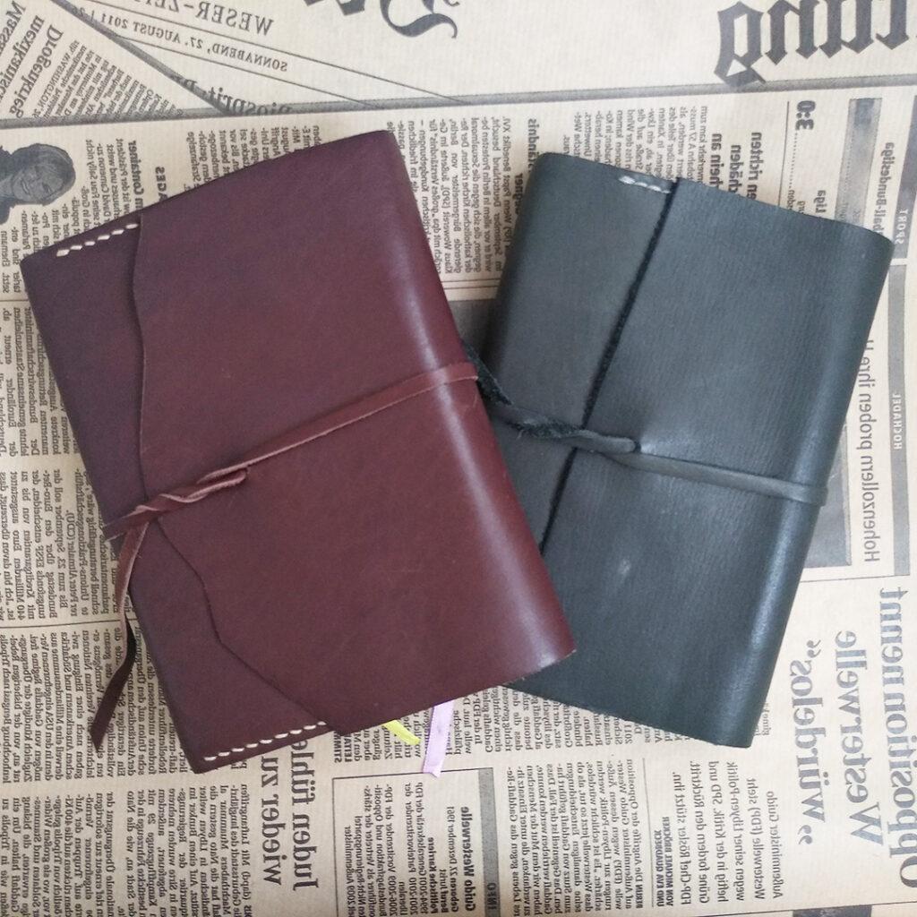 Блокнот ежедневник из натуральной кожи на заказ