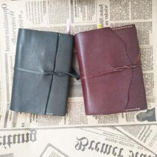Кожаный блокнот ежедневник на заказ