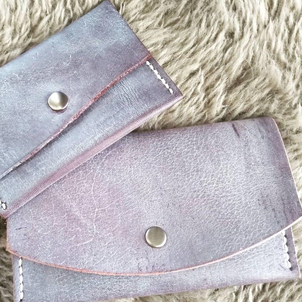 Кожаный кошелек винтажный Kemms Design