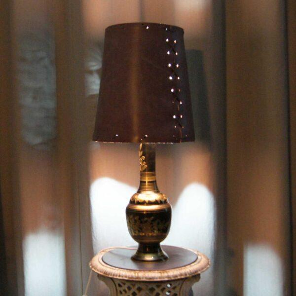 Настольная лампа ручной работы