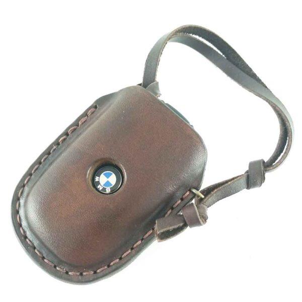 Кожаный чехол для ключей автомобиля